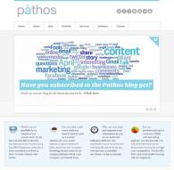 pathos homepage screen