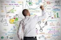 social media strategy wall